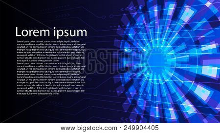 Abstract Digital Vector  Photo (Free Trial) Bigstock