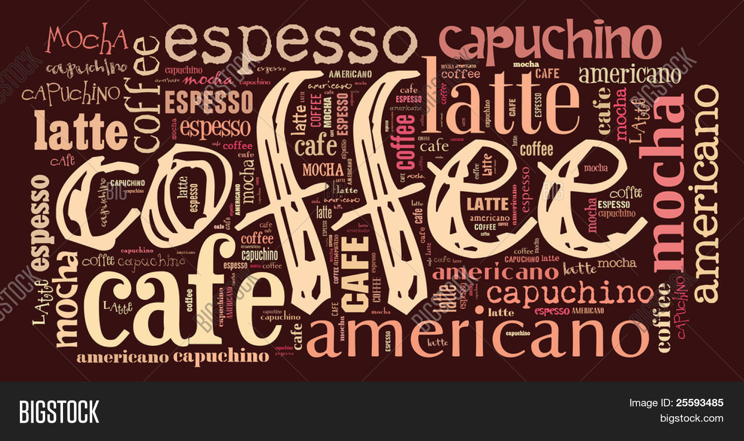 Kaffee Poster Poster Decorate Cafe Coffee Shop Image And Photo Bigstock