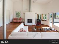 Interiors, Comfortable Living Room Image & Photo | Bigstock