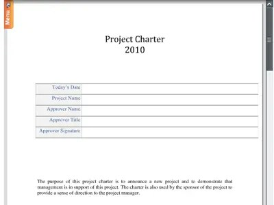 Doc#460595 Project Contract Template u2013 Project Management - project contract templates