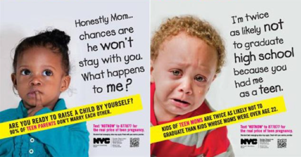 teen mom nyc ad subway
