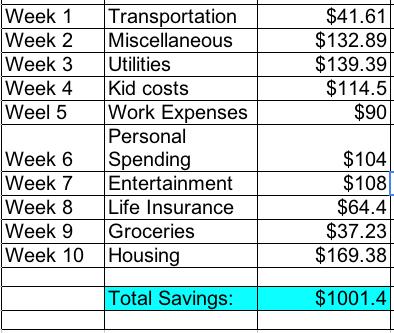 house expenses - Alannoscrapleftbehind