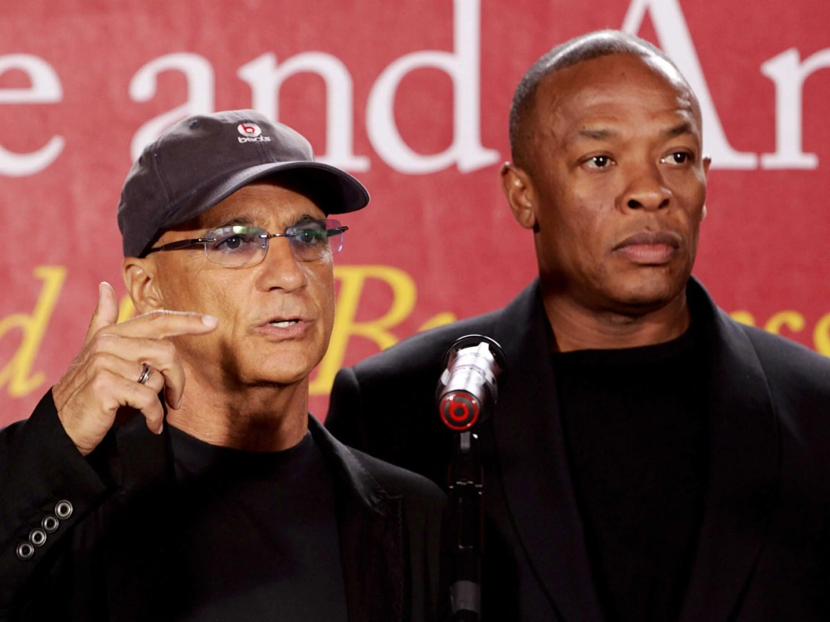 Dre teamed up with Interscope Records chairman Jimmy Iovine to launch Beats Electronics in 2006. The first Beats by Dr. Dre headphones were released in 2008.