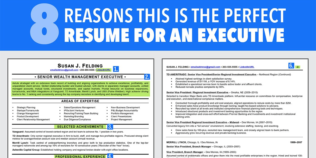 Ideal Resume For Someone With A Lot Of Experience - Business Insider - resume for experienced professionals