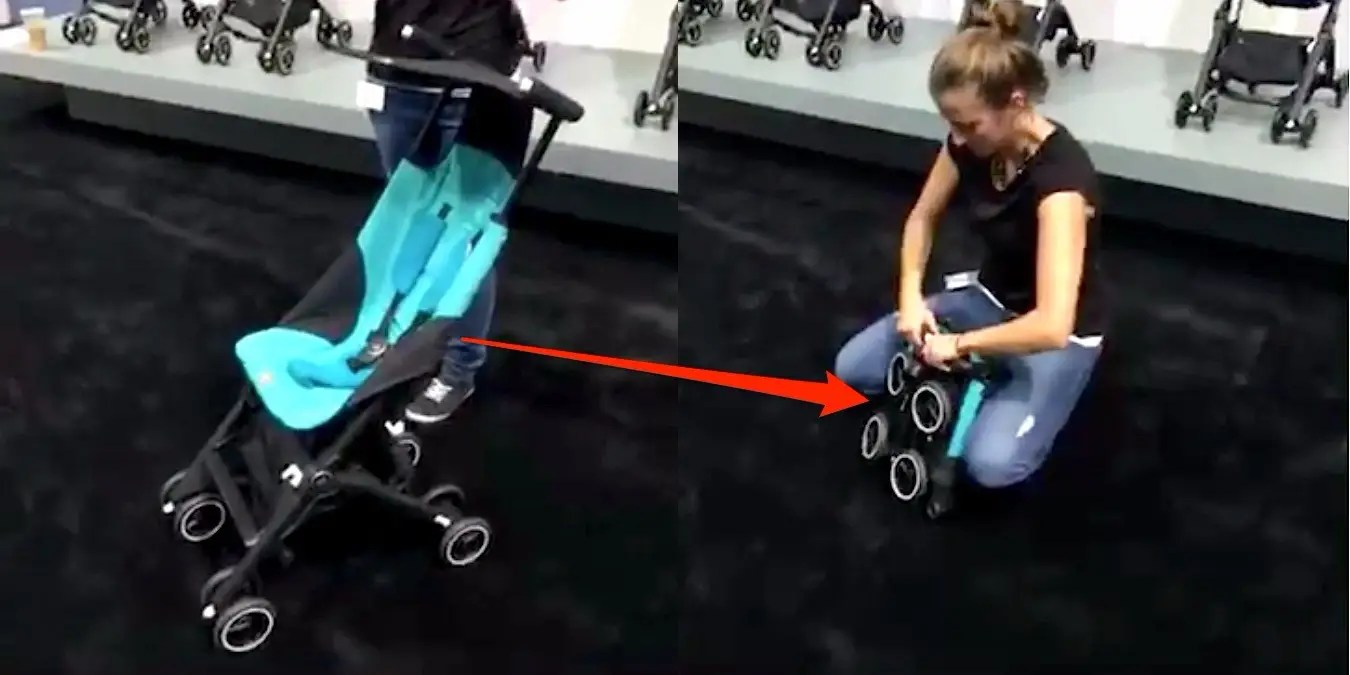 Baby Stroller In Usa Parents Are Going Nuts For This Tiny Folding Stroller