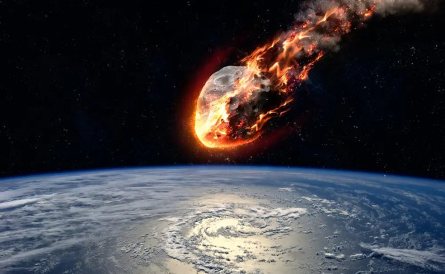 Study Hitting Asteroids With Small Probes Can Deflect