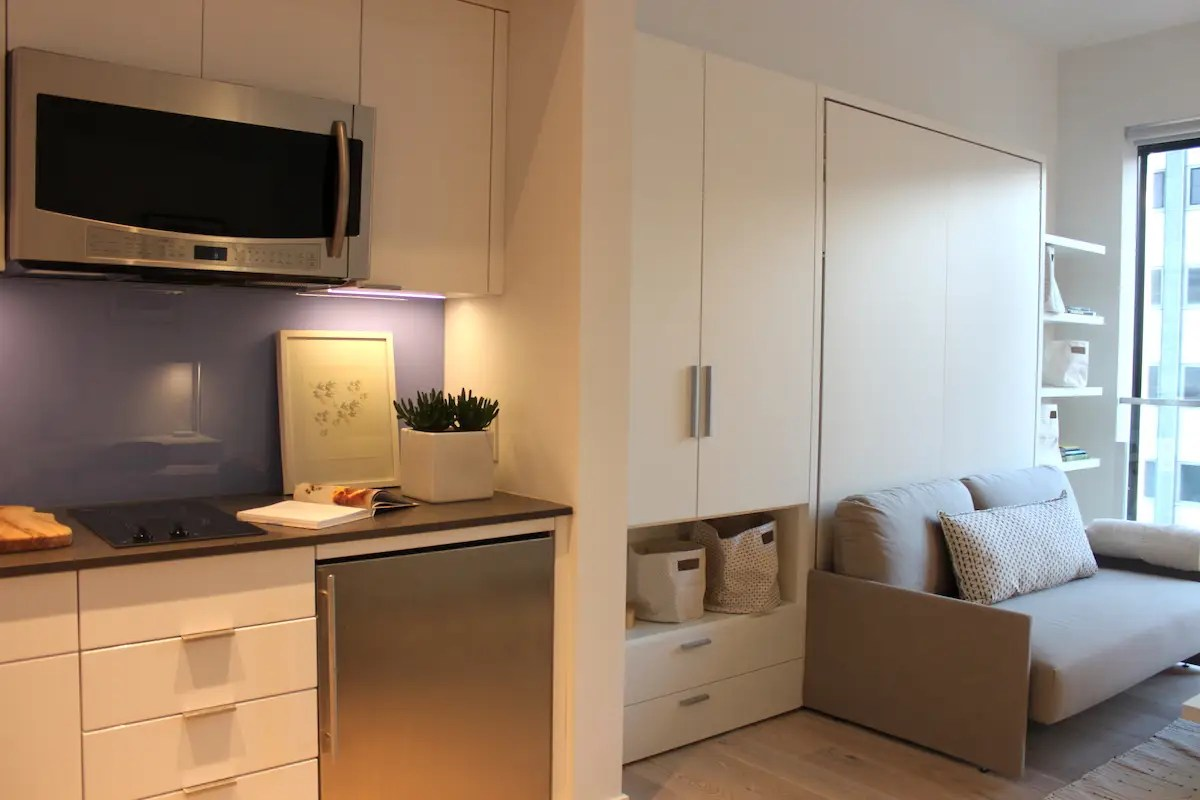 Micro Appartement What It 39s Like To Live In New York 39s Micro Apartments At