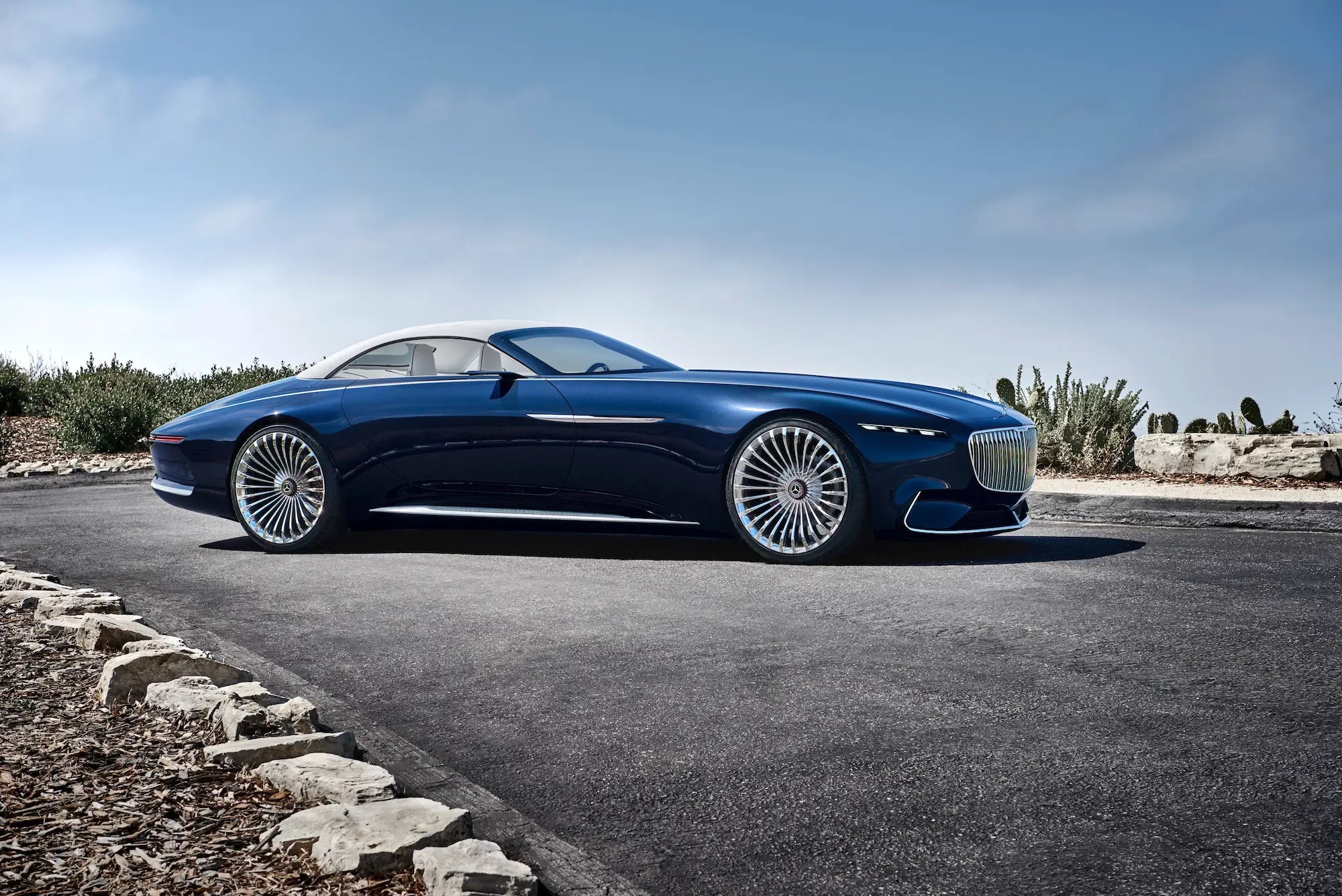 Mercedes Maybach Vision Mercedes Maybach 6 Cabriolet Is The Future Of