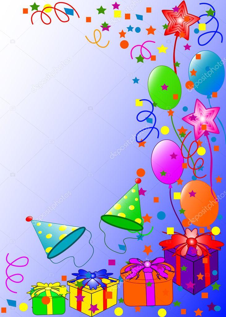 Balloons 3d Live Wallpaper Happy Birthday Background Stock Photo 169 Trinochka 1123420