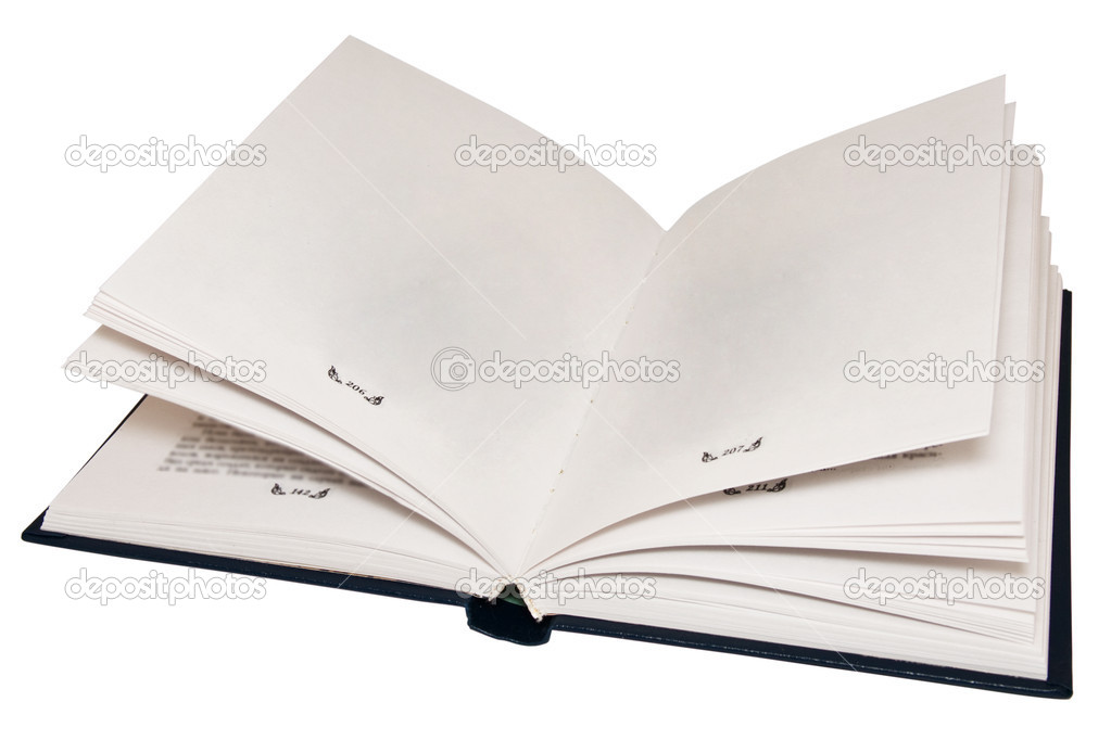 The open book with empty pages \u2014 Stock Photo © stokato #1483258