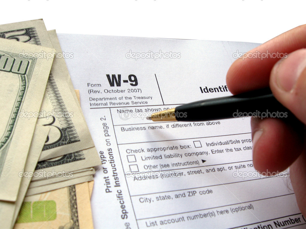 How To Fill Out A W9 Form How Toplete A W 9 Tax Form 9 Steps How