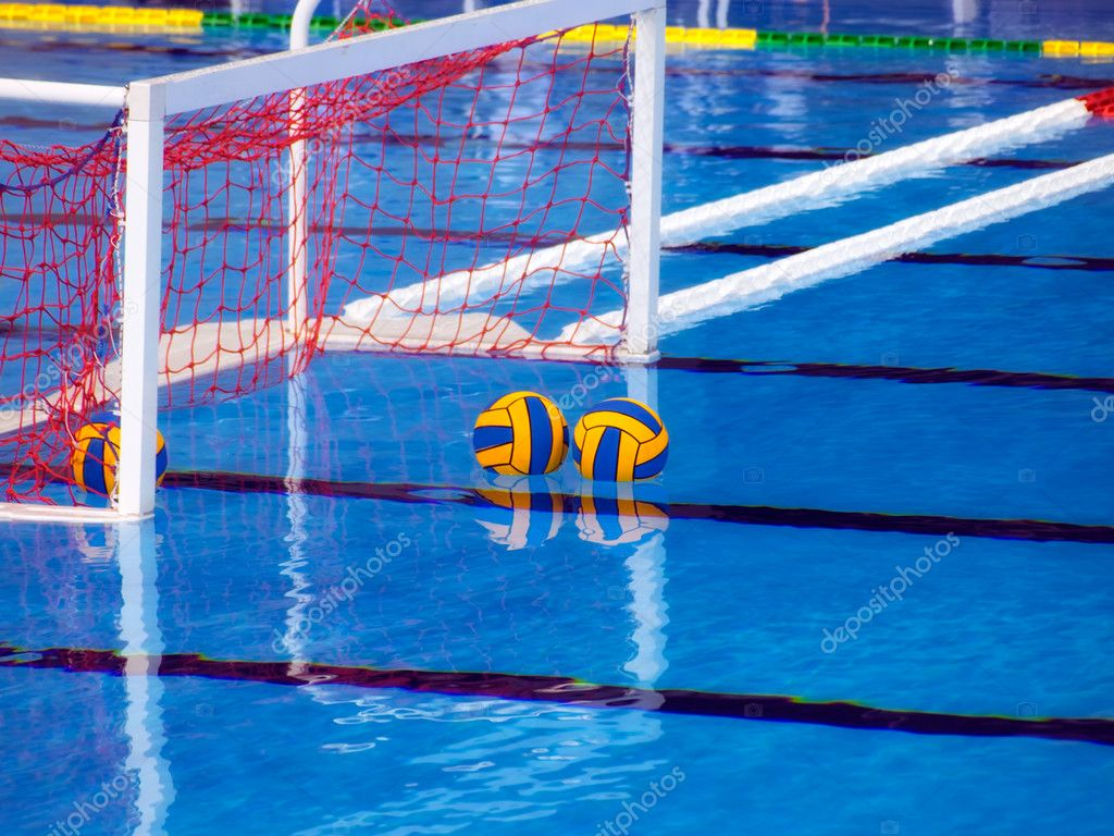 Piscina Waterpolo Waterpolo Stock Photo Sbotas 2397279