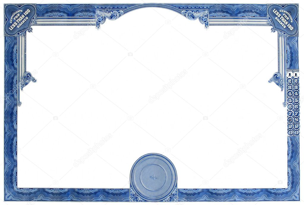 Word blank stock certificate template image collections printable stock certificates certificate sample in word certificate stock photos royalty free certificate images printable stock yadclub Gallery