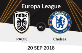 PAOK vs Chelsea Betting Tips - Odds & Predictions - Europa League