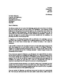 Responding To Customer Complaints Businessballs Letter Of Complaint Gcse English Marked By Teachers