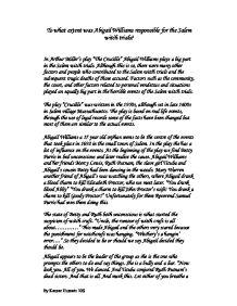 Salem Witch Trials Of 1692 Essay Cardiacthesisxfc2com