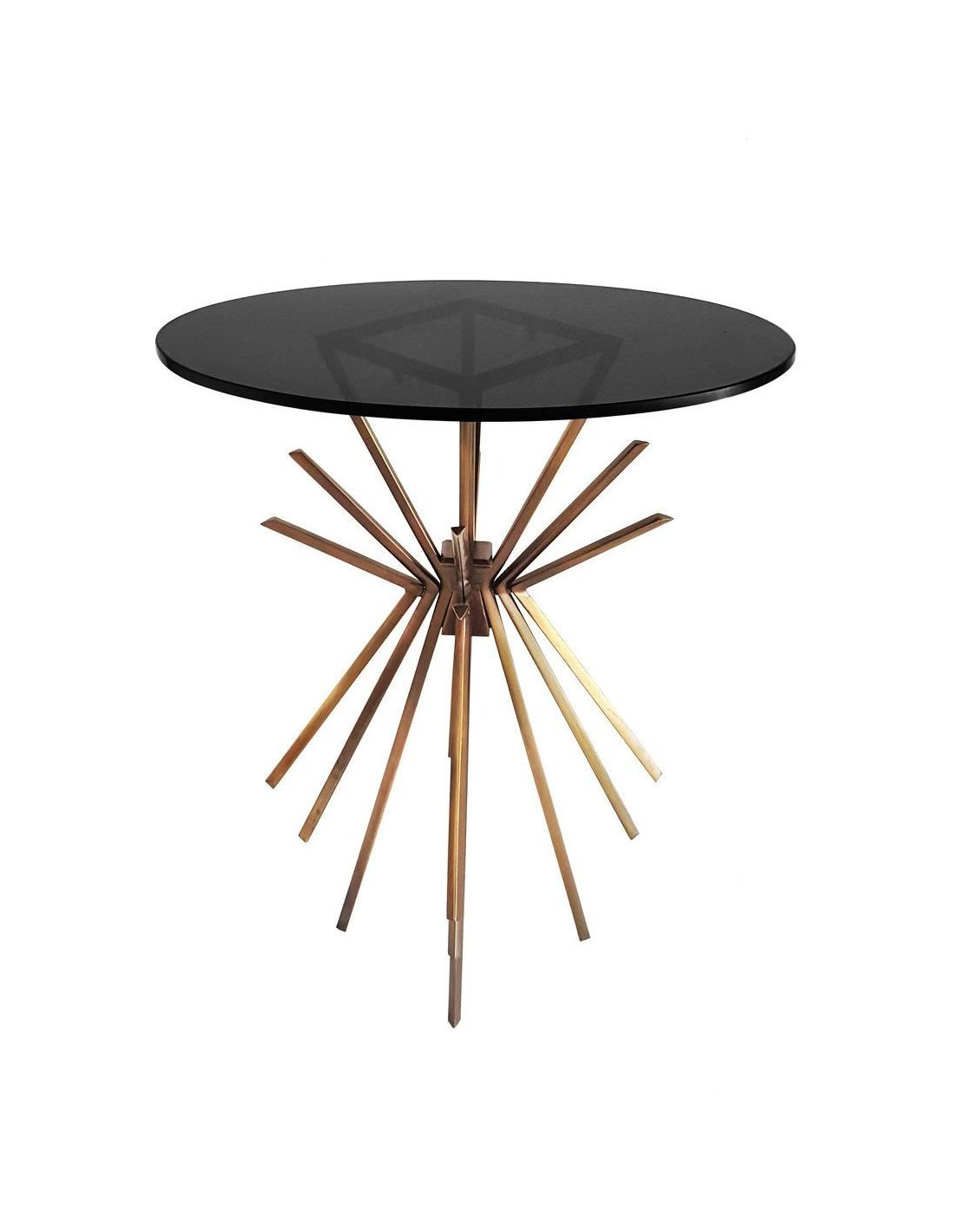 Table Basse Cuivre Table Basse Side Sparks 410 Cuivre Kayoom Rose