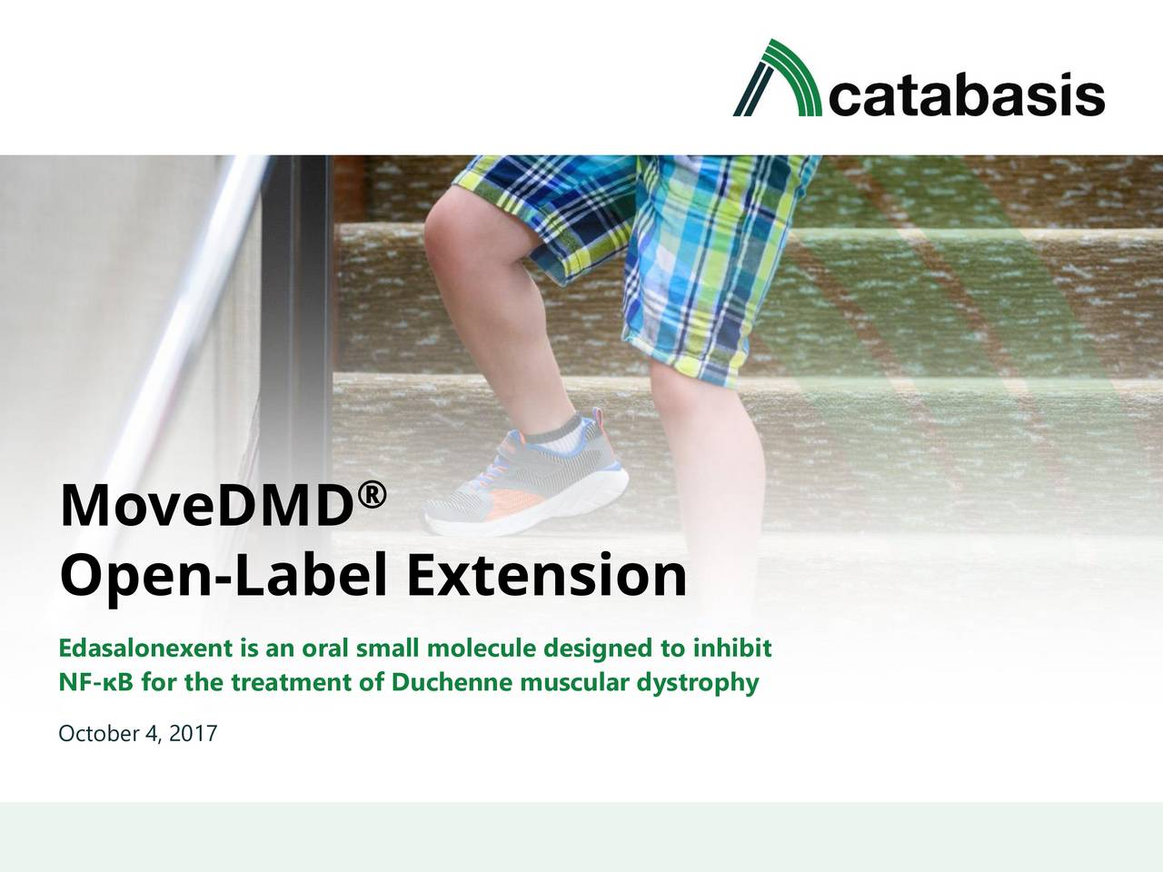 Duchenne Muscular Dystrophy Quotes Catabasis Pharmaceuticals Catb Open Label Extension