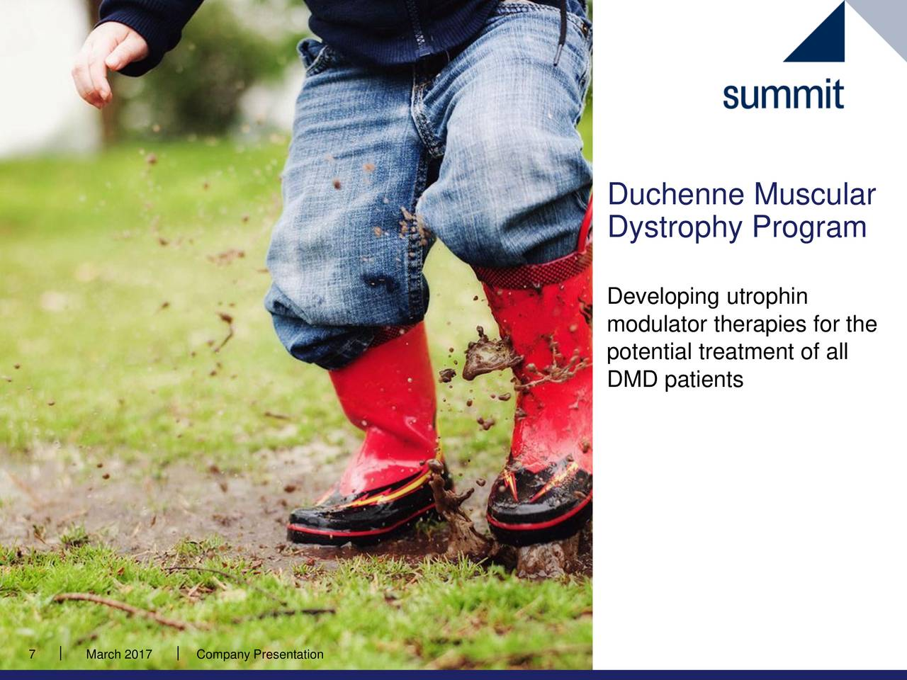 Duchenne Dystrophy Ppt Summit Therapeutics Smmt Presents At Oppenheimer 27th