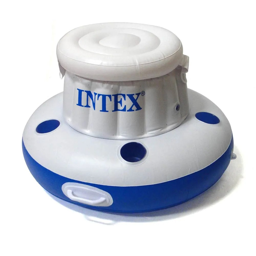 Capa De Piscina Intex Bar Cooler Flutuante 15 L 24 Latas 79cm Ø Inflável Intex