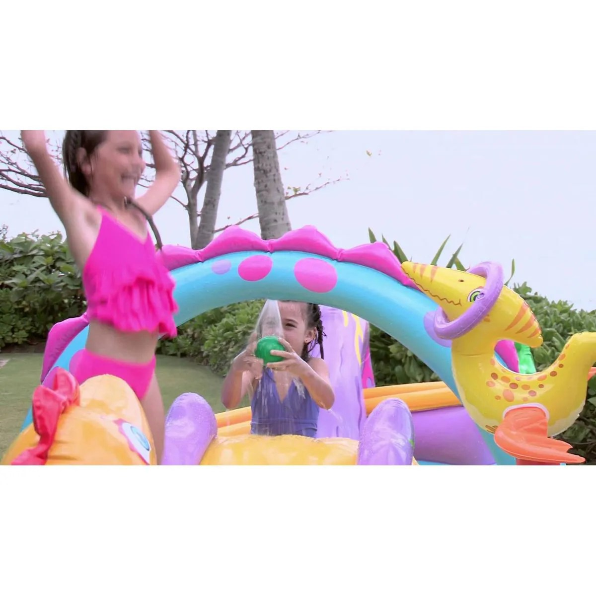 Piscina Intex Infantil Piscina Playcenter Infantil Floresta 280 Litros Intex