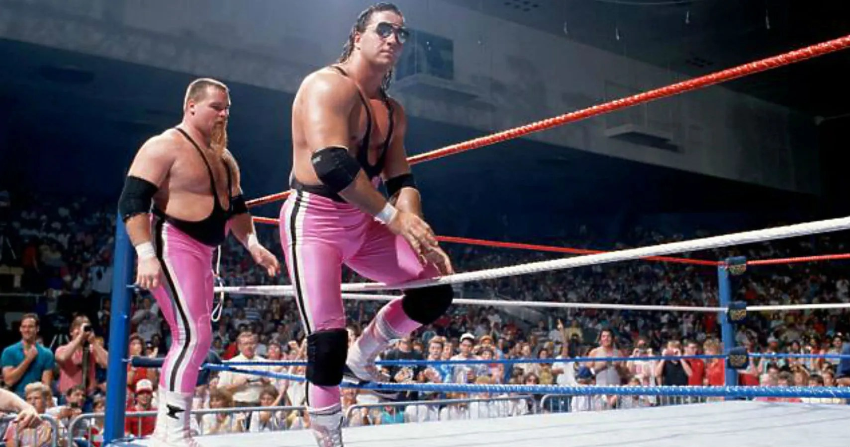 Ring Ceremony Hd Wallpaper Bret Hart Wants The Hart Foundation In The Wwe Hall Of Fame