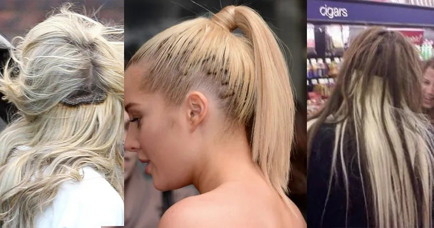 15 Hair Extensions Gone Terribly Wrong Thethings