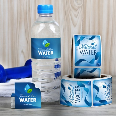Water Bottle Labels - Print Personalized Water Bottle Labels UPrinting