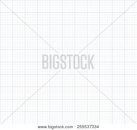 Vector Seamless Graph Paper Background, Endless Backdrop Poster ID