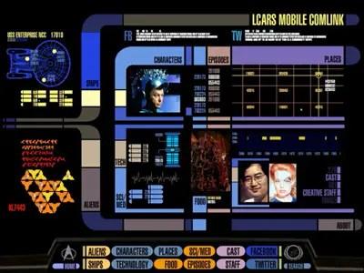 3d Hologram Wallpaper App Star Trek Ipad App Business Insider