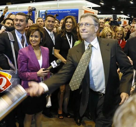 bill gates warren buffett newspaper