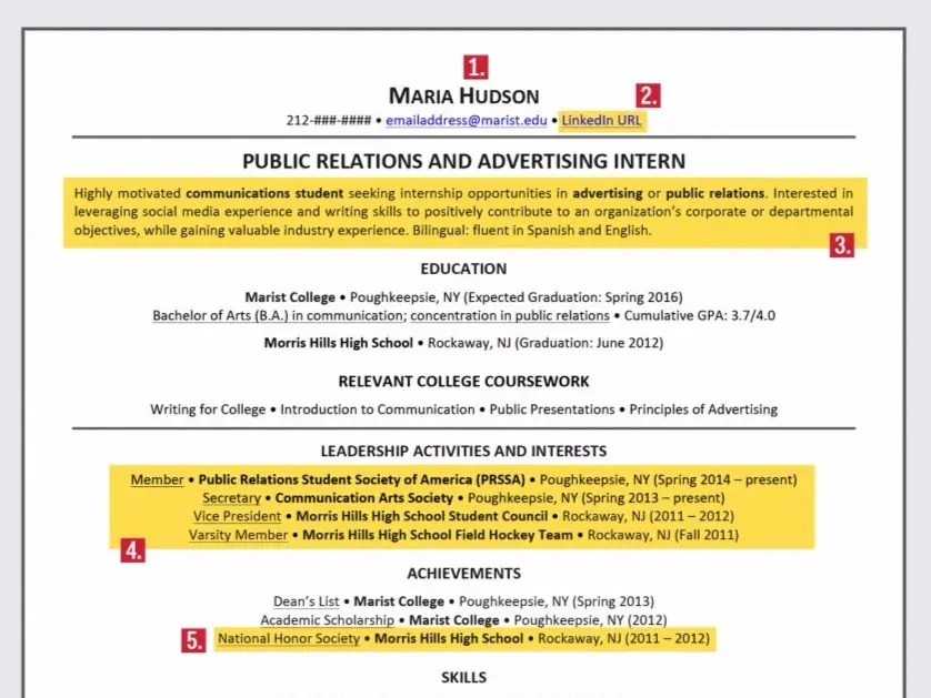 Ideal resume for someone with no experience - Business Insider - resume no experience