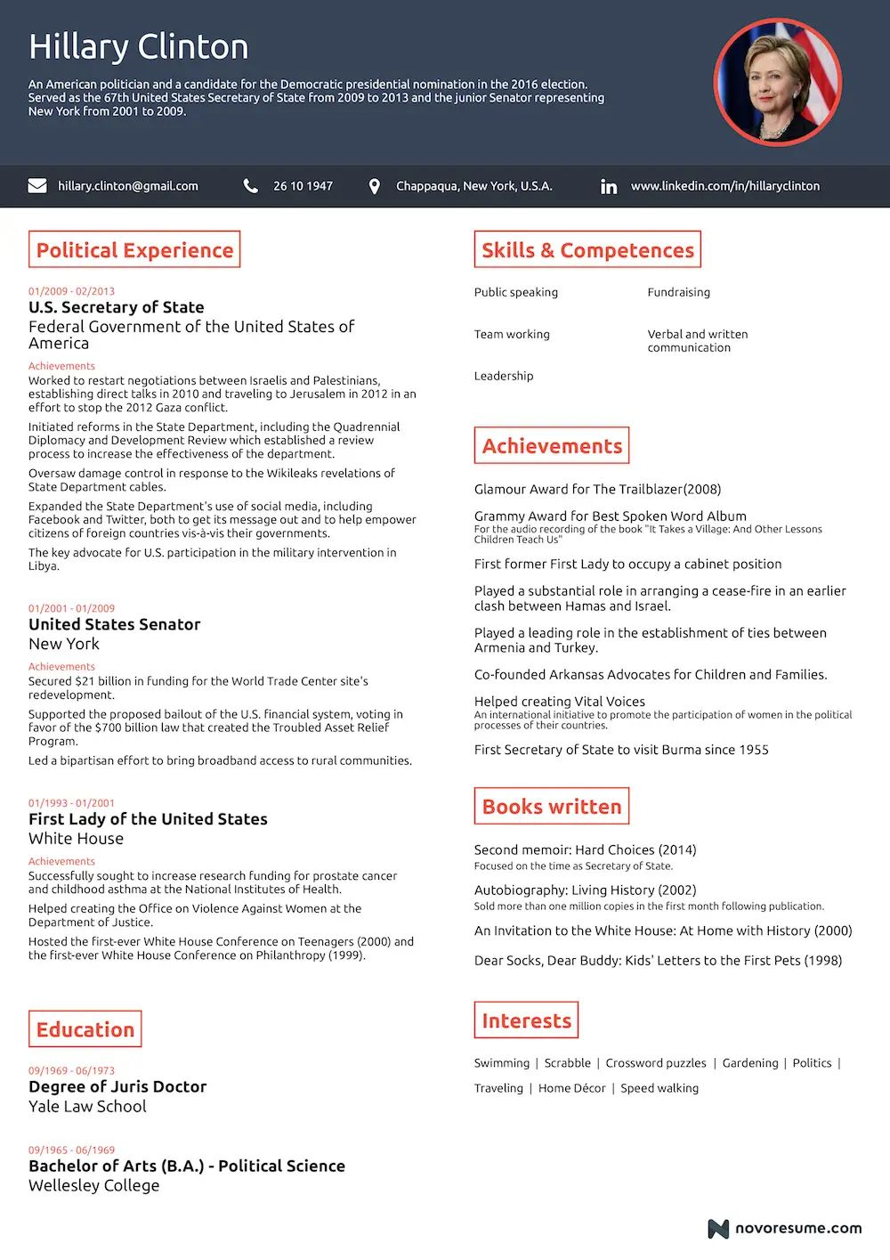 resume more than one page