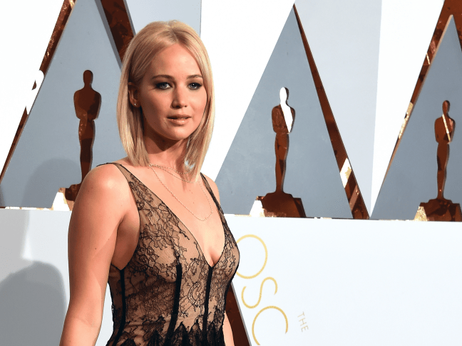 Jennifer Lawrence was an Oscar-winner raking in millions