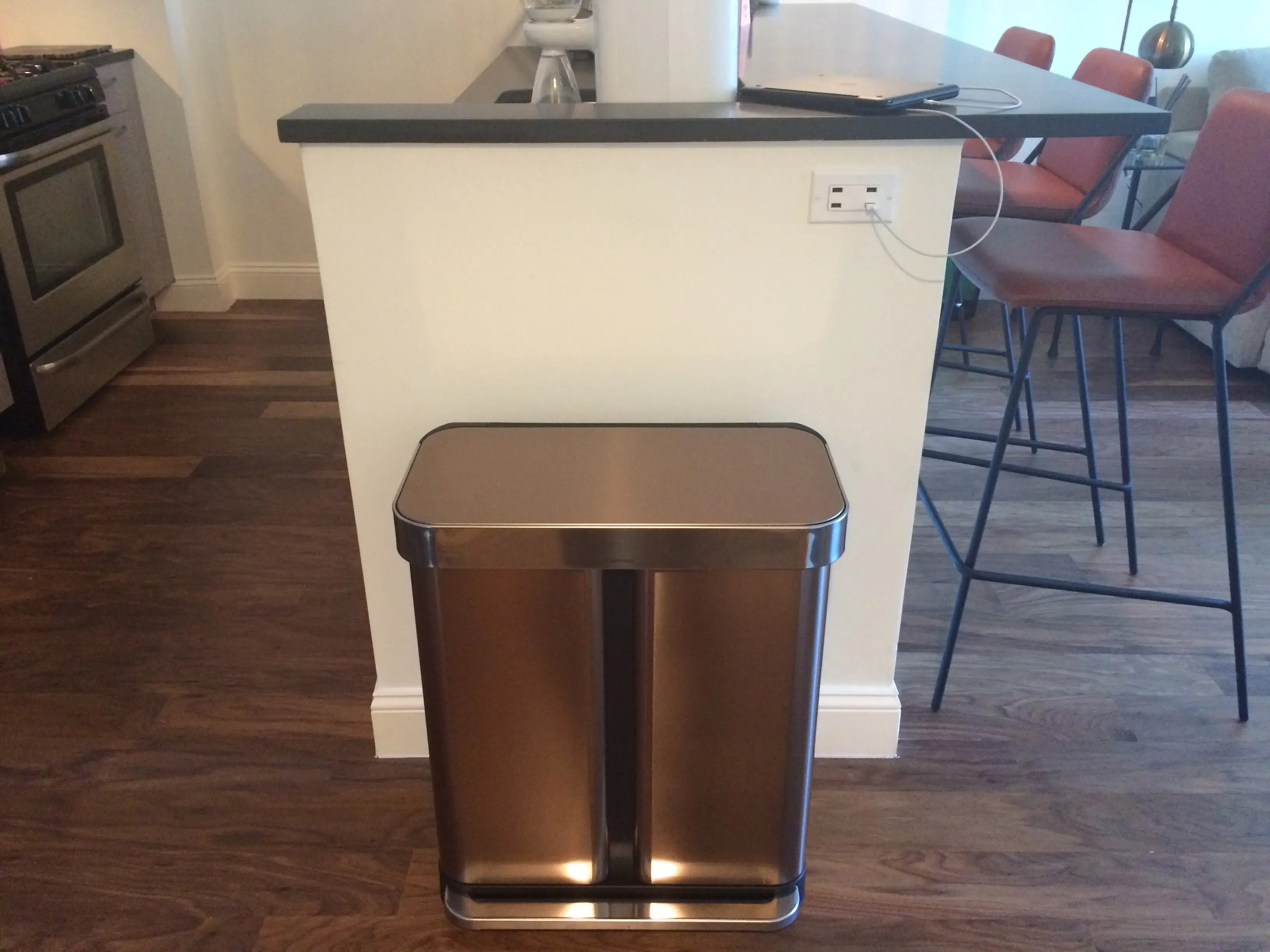 Rose Gold Trash Can Simplehuman Trash Can Is Worth More Than 50 Review