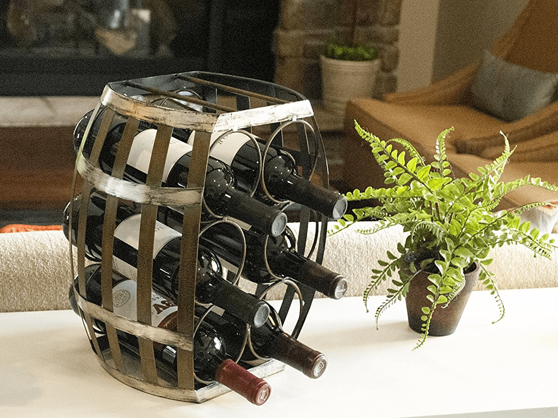 Wine Shaped Wine Rack 15 Gifts For Quotwine Lovers Quot Who Don 39t Actually Know Much