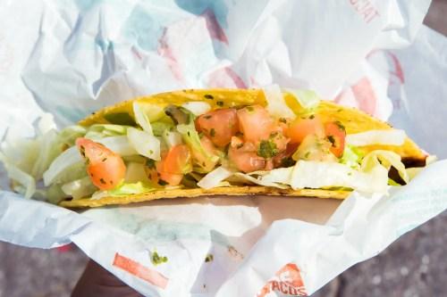 Medium Of Taco Bell Fresco Menu