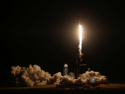 SpaceX just successfully launched the first commercial spaceship made for NASA astronauts - SFGate