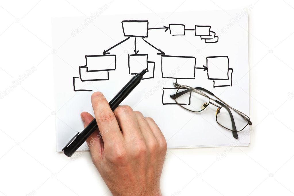 Block diagram \u2014 Stock Photo © Observer #2999584