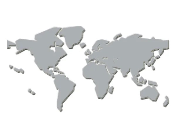 Foto stock Cartina geografica mondo, Immagini Cartina geografica - cartina mondo