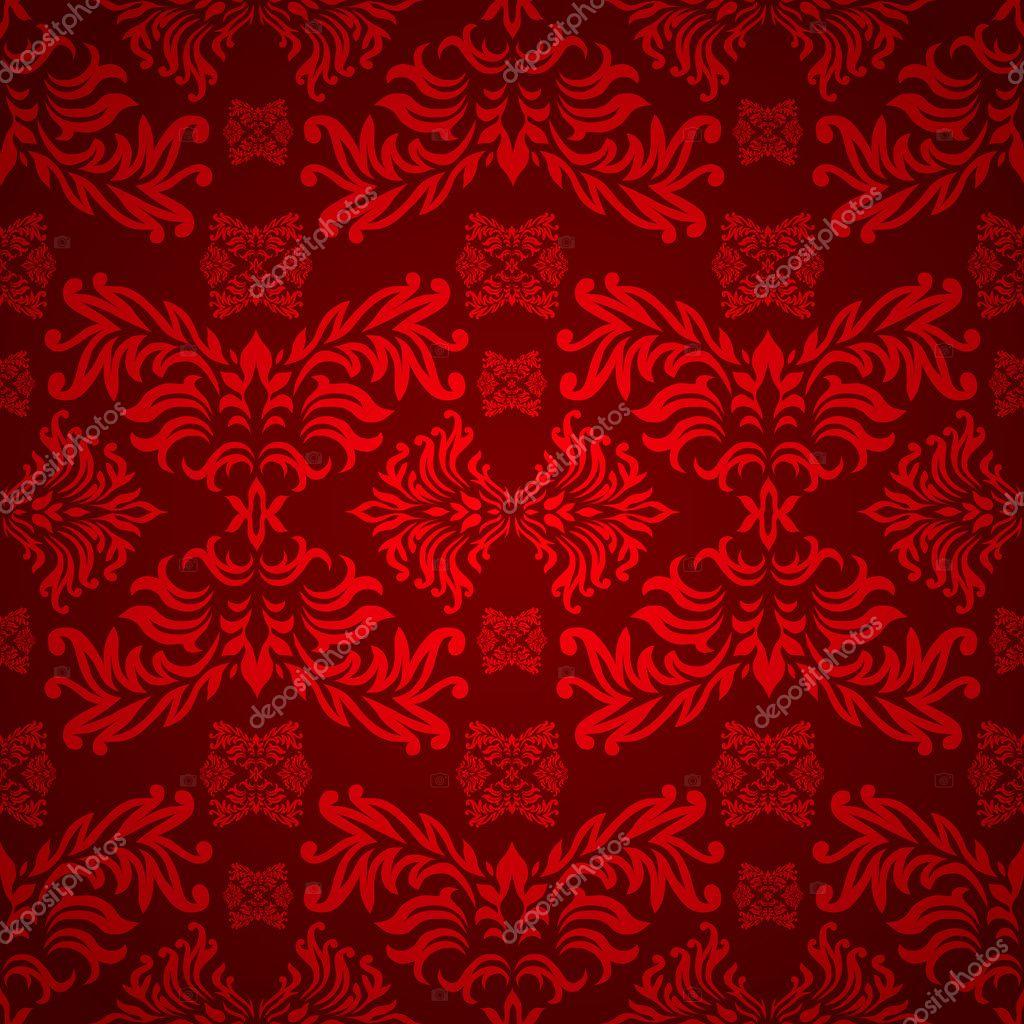 Black And Silver Floral Wallpaper 赤い花のゴシック様式 ストックベクター 169 Nicemonkey 3415317