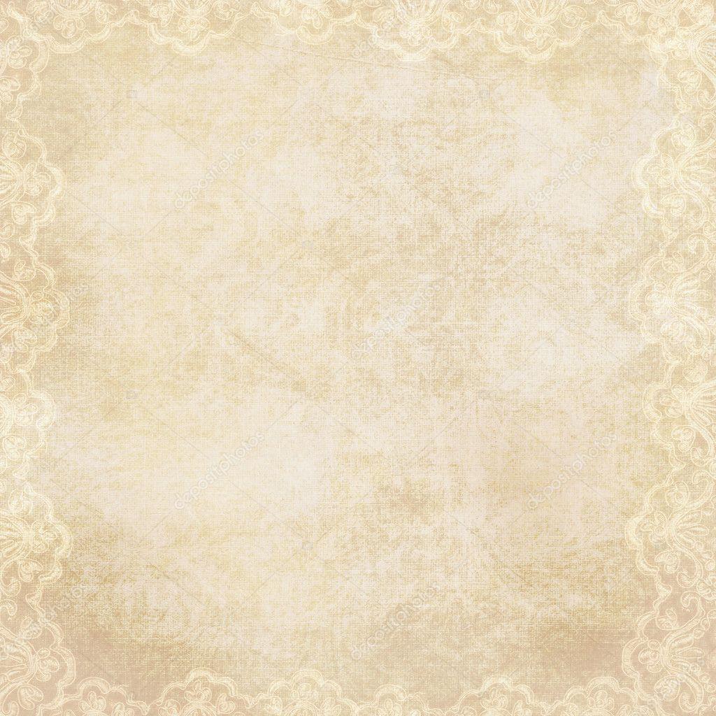Classical Girl Live Wallpaper Download Vintage Hintergrund Mit Lacy Rand Stockfoto 169 Chiffa