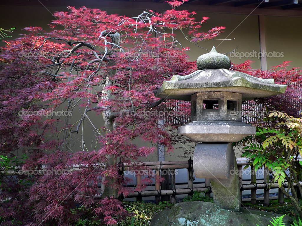 Wallpaper Japanischer Garten Japanese Garden Stock Photo Yurizap 3144949