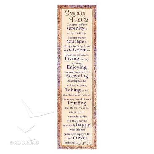 Serenity Prayer Bookmark - Sixdesignenvy \u2022