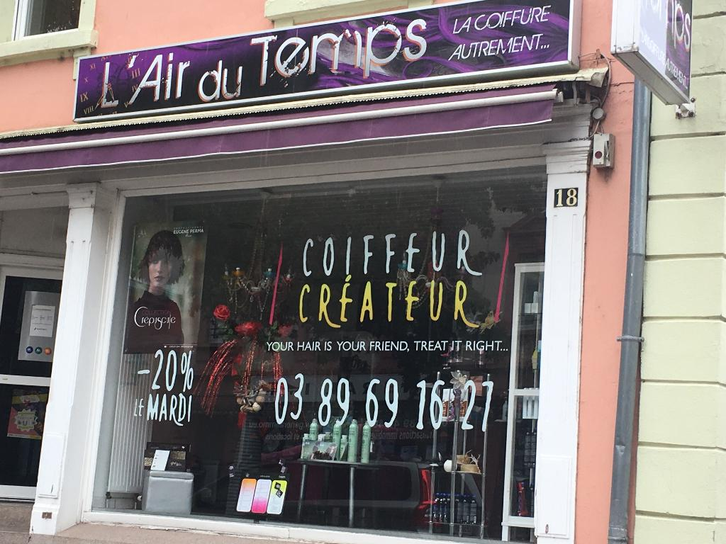 Coiffeur Visagiste 69 Air Du Temps Coiffeur 18 Avenue Bâle 68300 Saint Louis