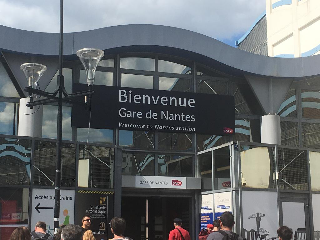Gare Sncf Gare Sncf Nantes Nantes Transport Ferroviaire Adresse Horaires