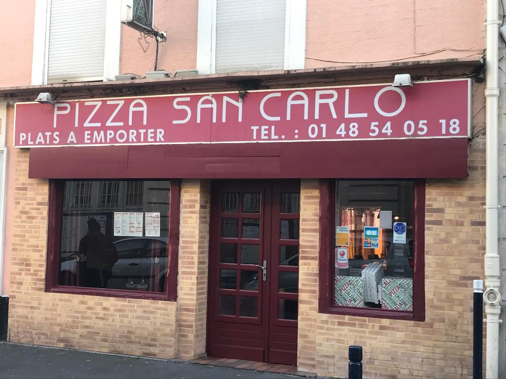 Pizza Le Raincy Pizza Saint Carlo Restaurant 4 Boulevard Carnot 93250