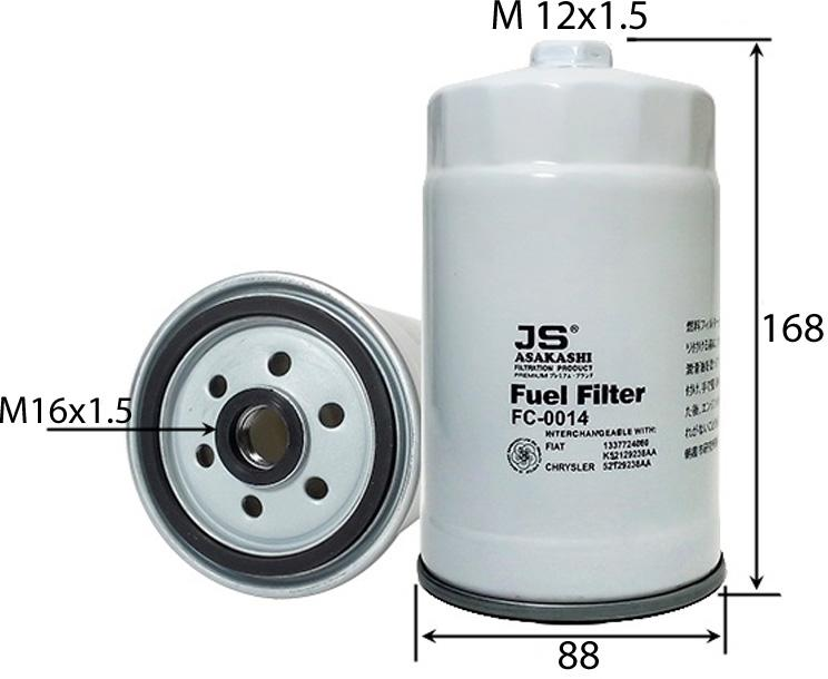 FF5501 FUEL FILTER FLEETGUARD FS1251 FRAM PS9845WST HENGST FILTER