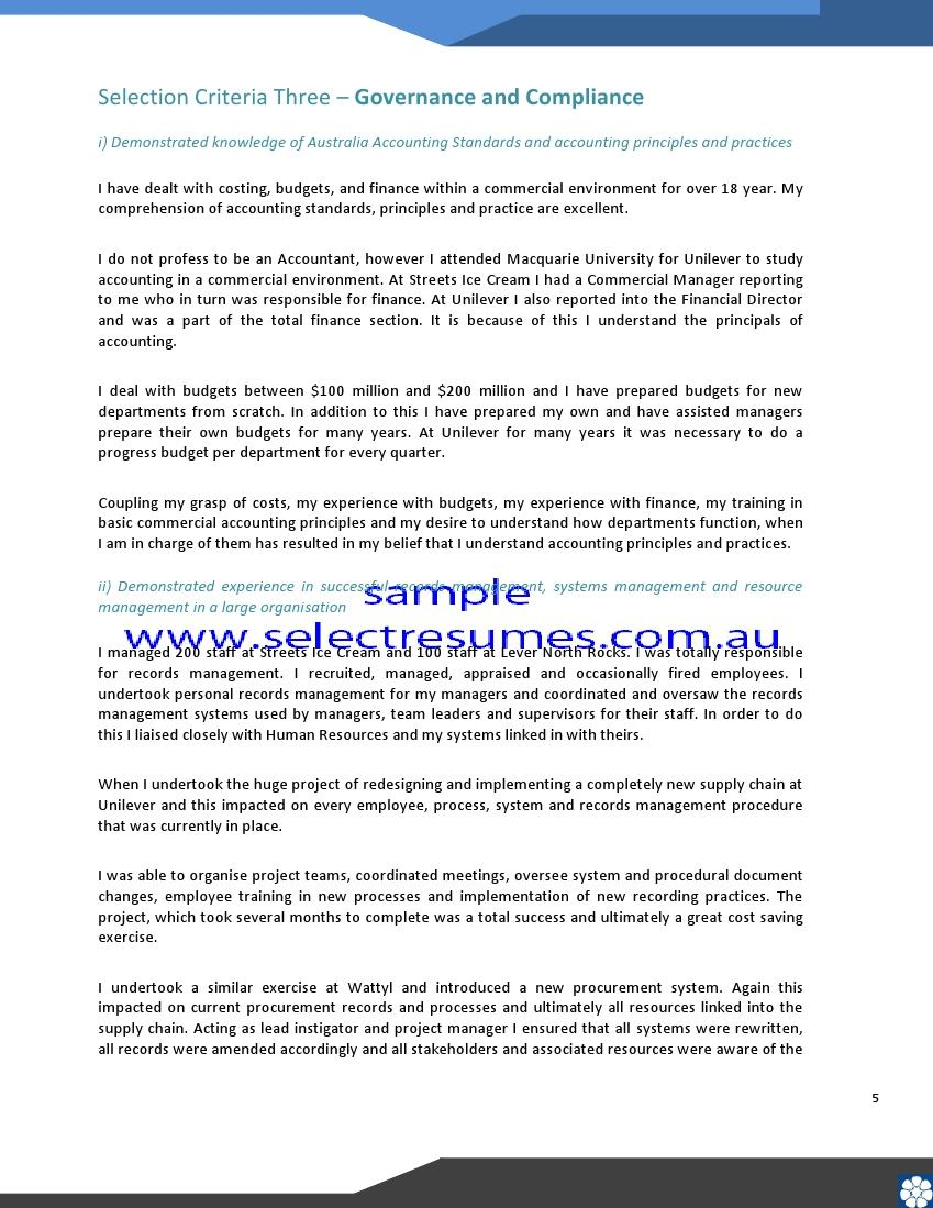 cover letter with selection criteria  template also cover letter with selection criteria