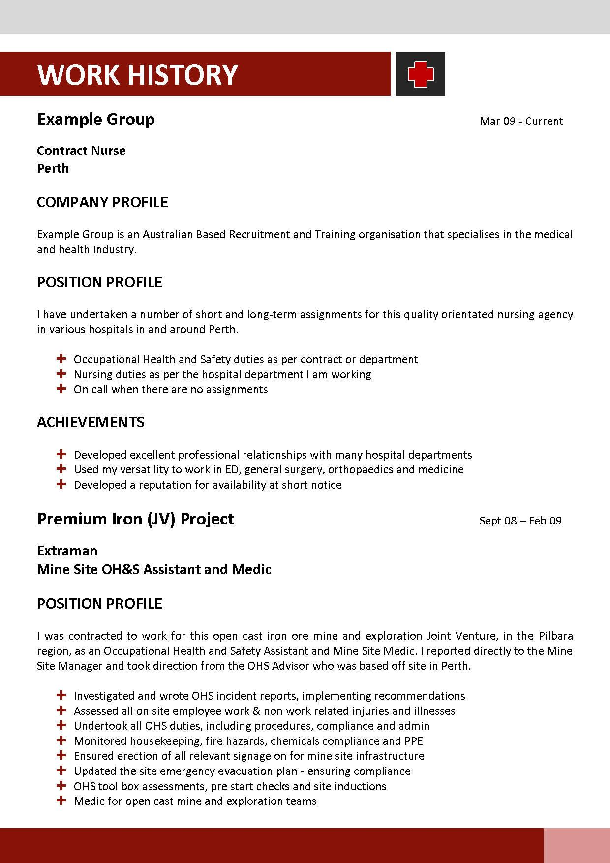 i need help with my resume